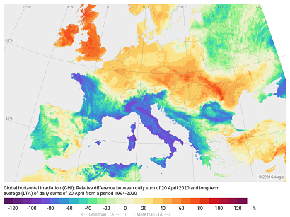 Further European solar records to follow in 2020 says Solargis