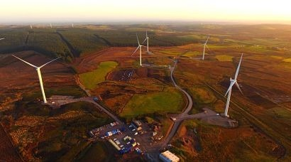 Energia switches on four windfarms in Northern Ireland