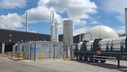 Granville Ecopark becomes first UK anaerobic digestion plant certified under new performance scheme