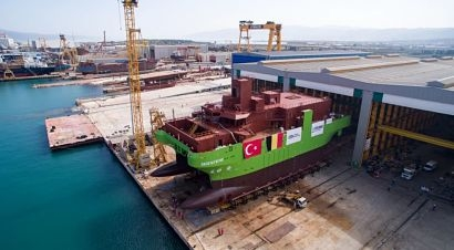 DEME Group launches first ever Service Operation Vessel 'Groene Wind'