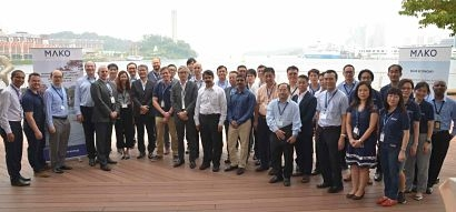Mako tidal energy demonstration site opens in Singapore