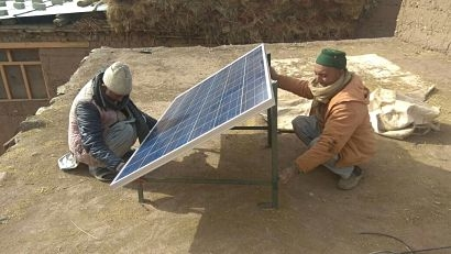 REC solar panels bring clean energy to remote Himalayan communities