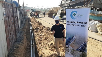 Eco Wave Power commences grid connection for EWP-EDF One project in Jaffa, Israel