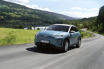 Hyundai Kona Electric wins Best Green Fleet Car award