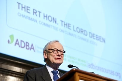 Lord Deben, Chairman of the UK Committee on Climate Change, to open World Biogas Summit 2020
