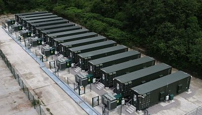 Anesco completes 20MW battery storage site