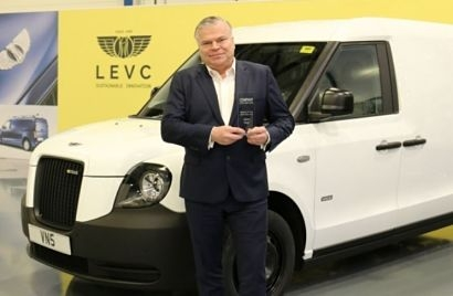 New LEVC VN5 wins Best Medium EV Van of the Year at Company Car and Van Awards