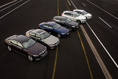 BMW highlights its latest plug-in hybrid line-up