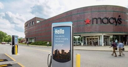 Volta expands its partnership with Macy's offering free charging to customers