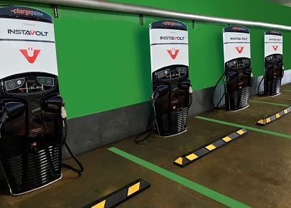 InstaVolt switches on first four-charger site