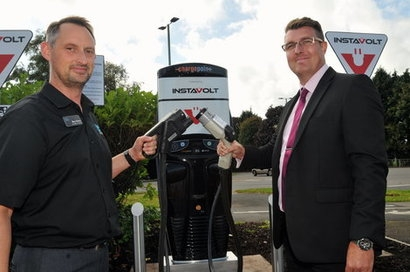 InstaVolt to help install rapid EV chargers in the UK county of Devon