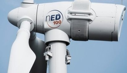 Norvento unveils new nED100 wind turbine