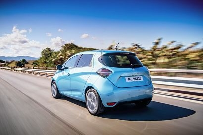 New Renault Zoe picks up double win at Driving Electric Awards
