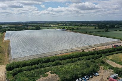 Giant Greenhouses in Norfolk and Suffolk to utilise largest heat pump system in the UK