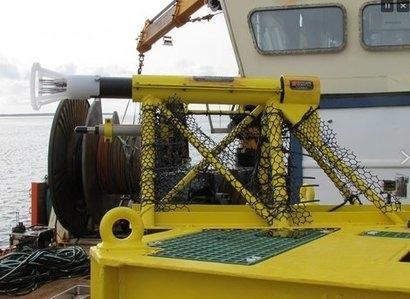 InSTREAM turbulence kit deployed on EMEC monitoring pod