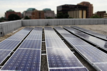 Solar technology could help to boost income for businesses