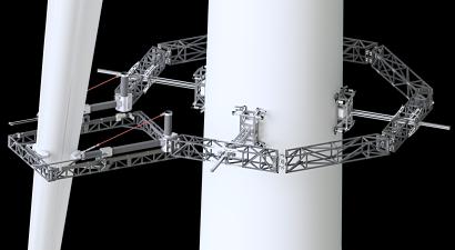 World-first robotics technology being developed for wind turbine maintenance