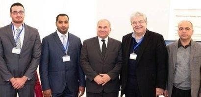 Jordan Minister of Energy opens new solar power project