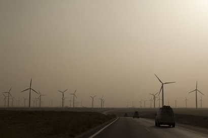 Chinese wind power capacity to treble by 2025