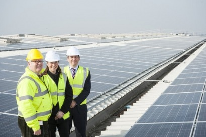 Wolseley UK installs huge solar array on distribution centre roof