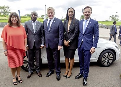 Volkswagen and Siemens launch joint electric mobility pilot project in Rwanda
