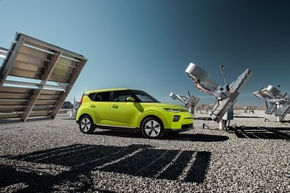 Kia Motors presents all-electric display at Geneva
