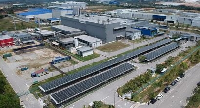 Safran Landing Systems in Malaysia goes green with solar carpark from Cleantech Solar
