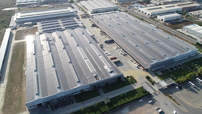 Daikin factory in Turkey nearly energy neutral thanks to solar power