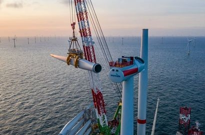 Turbine installation at Belgium's largest offshore wind farm crosses the finish line