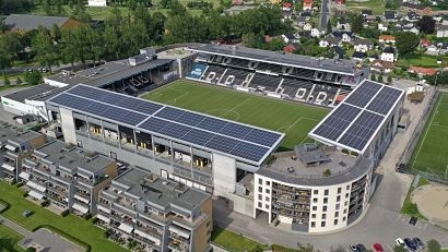 ABB technology powers soccer club's Skagerak Arena in Norway