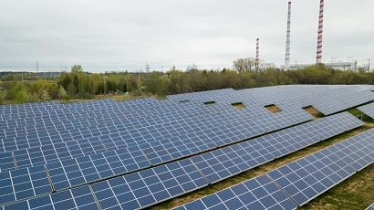 Ignitis Group installs the largest solar power plant in the Baltic States