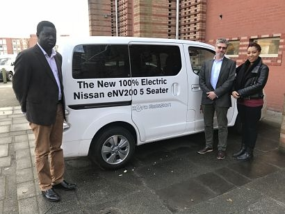 De Montfort University research leads to Africa's first 'solar-powered taxi'
