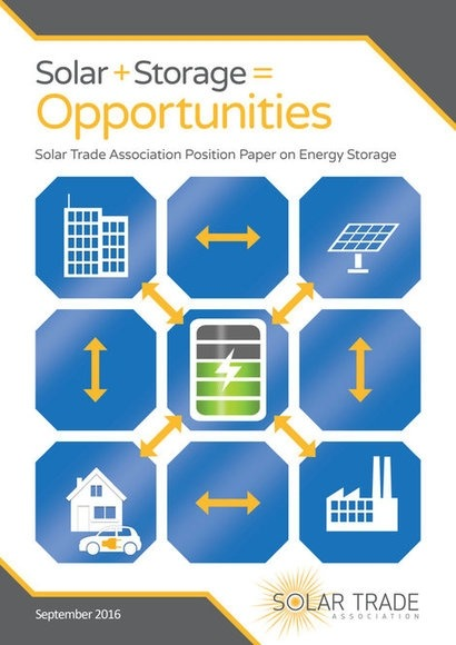 STA sets out solar industry storage priorities