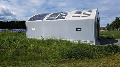 Midsummer develops flexible canvas tarpaulins with integrated solar