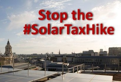 UK solar industry warning over new tax hike which could