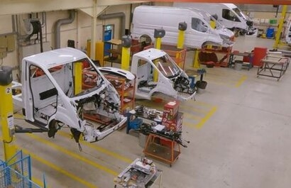 Ford announces European customer trials programme for new electric transit van