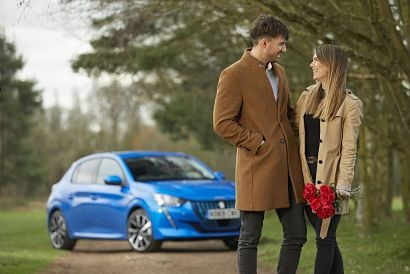Majority of UK long-distance couples could visit their partner in an electric Peugeot without recharging