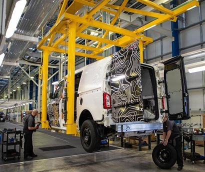 LEVC building its first electric van prototypes