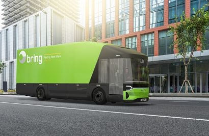 Bring and Posten selects Volta Trucks for full-electric parcel service