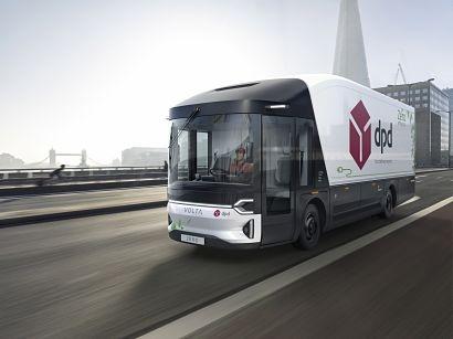 Volta Trucks and DPD to begin a pilot test of Volta Zero electric parcels van soon