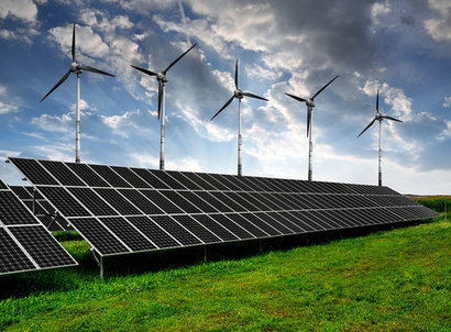 Scale-up of solar and wind puts existing coal and gas at risk