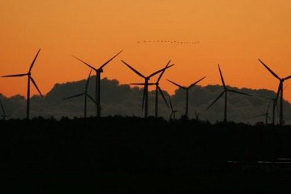 EU wind power is being hit by the economic crisis