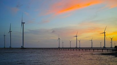 Vestas wins 50 MW order for second phase of largest intertidal wind project in Vietnam to date