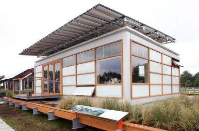 Today's solar homes draw inspiration from the past