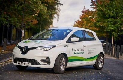 Islington Council takes delivery of its first 100 per cent electric Renault Zoes