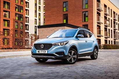MG Motors UK showcases ZS electric vehicle at Carfest