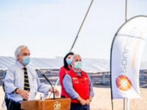 170MW Sonnedix Atacama solar PV plant inaugurated by President Sebastián Piñera of Chile