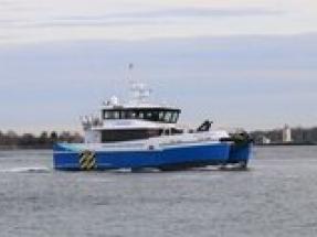 "Atlantic Wind Transfers CTV ""Atlantic Endeavor"" now ready to support Virginia pilot offshore wind farm"