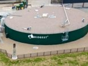 Biogest completes 100 percent grass anaerobic digestion plant in Southwest England