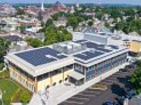 Greater Burlington YMCA's rooftop solar array will provide 25% of the building's energy needs